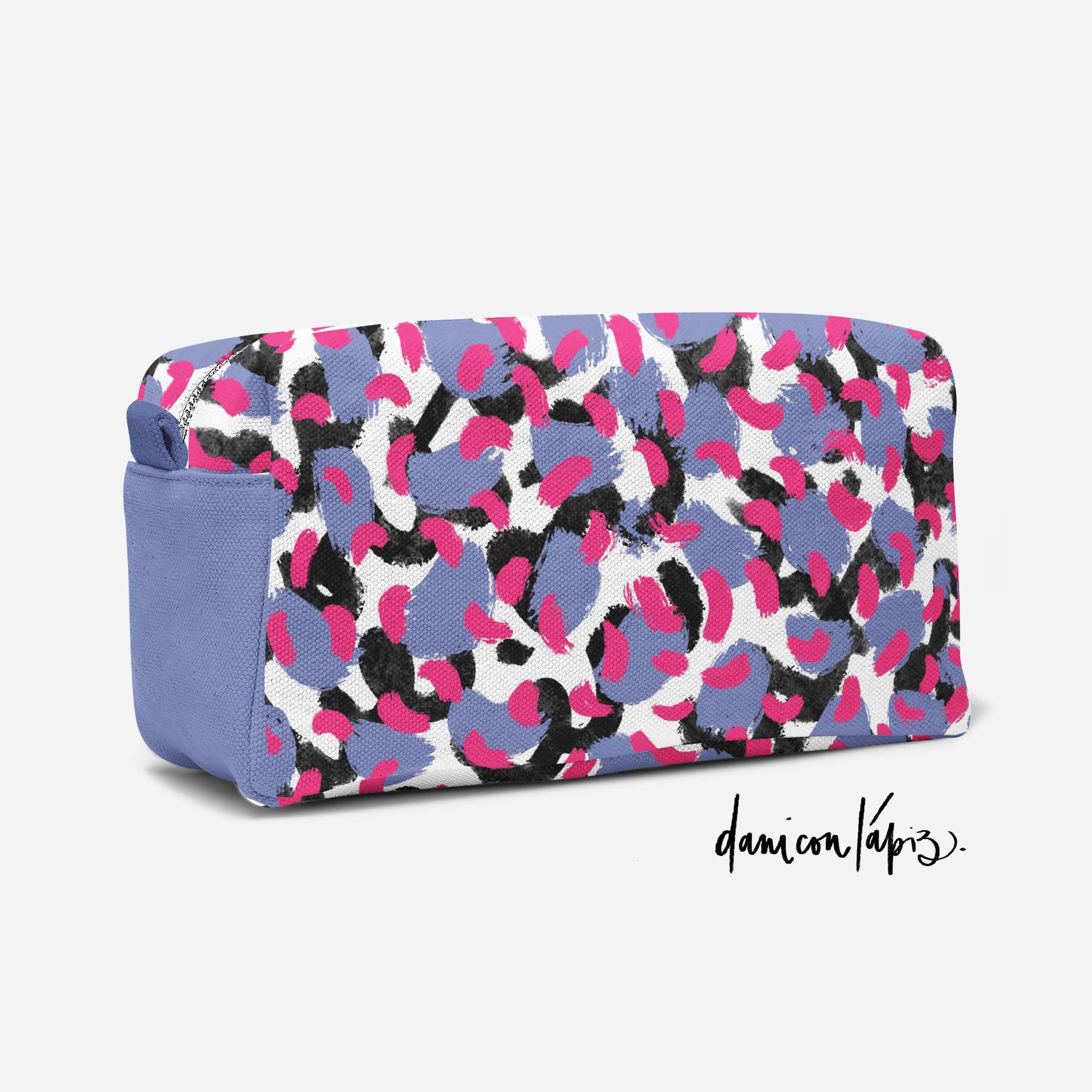 Diseño pattern cosmetiquero by Dani con Lápiz / 2020